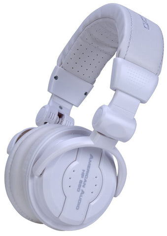 American Audio HP550 Headphones Snow - Audiofeen