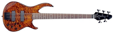 Peavey Millennium 5 AC Tiger Eye Bass Guitar - Audiofeen