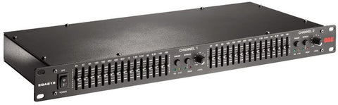 BBE EQA-215 Dual Channel 15 Band 2-3 Octave Graphic Equalizer - Audiofeen