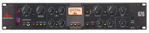 DBX 676 Tube Mic Pre Channel Strip - Audiofeen