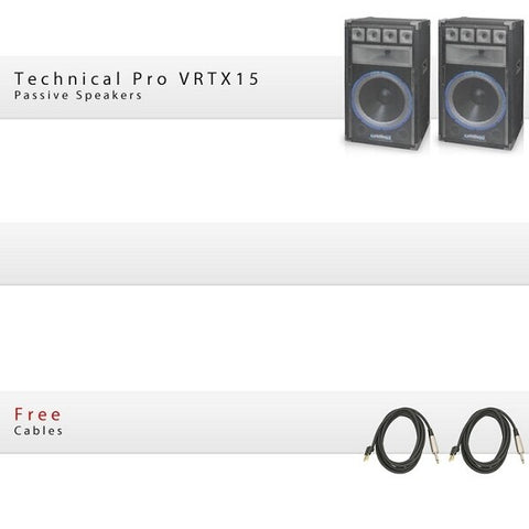 Technical Pro 15 Package - Audiofeen
