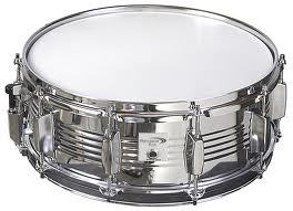 "Percussion Plus Snare Drum - 6.5 x 14"", Chrome, 8 Lugs"" - Audiofeen"