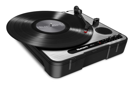 Numark PT01 USB Portable Vinyl-Archiving Turntable - Audiofeen