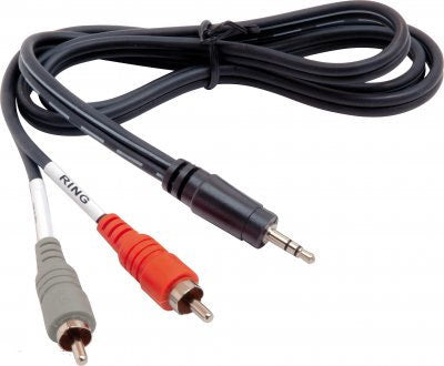 Hosa 1-8in to Dual RCA - Audiofeen