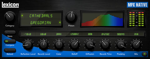 Lexicon LEXPLMPXR-D - MPX Native Reverb Plug-In - Audiofeen