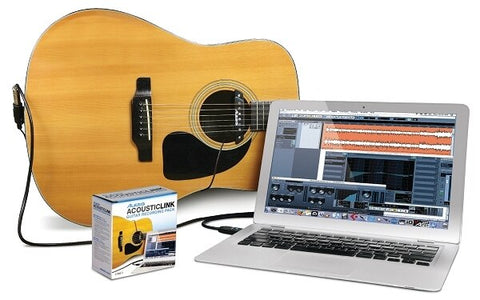 Alesis AcousticLink Guitar-to-Computer Recording Package - Audiofeen