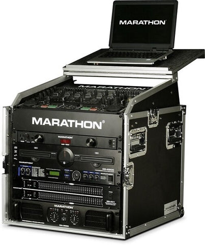 Marathon MA-M8ULT Slant Mixer Case with Laptop Stand - Audiofeen