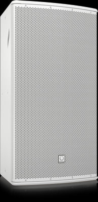 Turbosound TCS152-96-R-WH Arrayable 2 Way 15'' Full Range Loudspeaker with Dendritic Waveguide for Installation Applications (Weather Resistant, White) 90°x60° dispersion - Audiofeen
