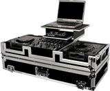 Odyssey FZGS12CDJW Flight Zone Glide Style Laptop DJ CD Mixer Coffin with Wheels - Audiofeen