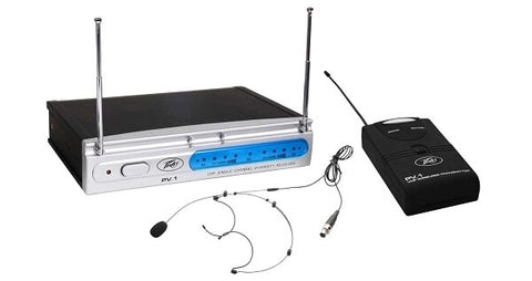 Peavey PV-1 V1 BHS 198.950MHZ Wireless Microphone System - Audiofeen