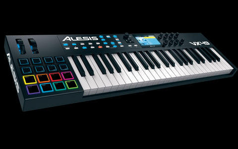 ALESIS VX49 49-Key USB-MIDI Controller with Full-Color Screen - Audiofeen