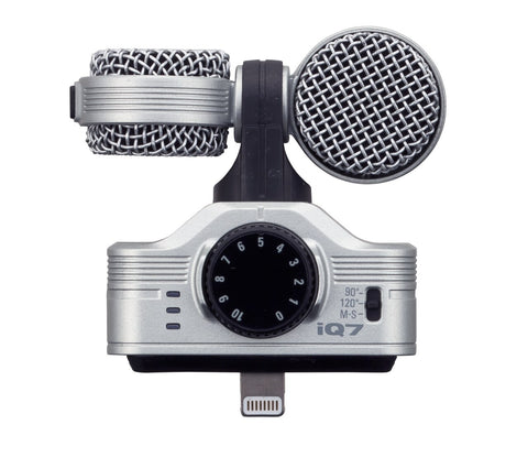 Zoom iQ7 - MS Stereo Microphone - Audiofeen