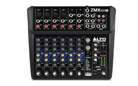 Alto ZEPHYR ZMX122FX 8-Channel Compact Mixer with Effects - Audiofeen