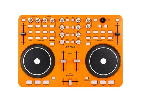 DJ Tech i-Mix Reload Orange DJ Controller - Audiofeen