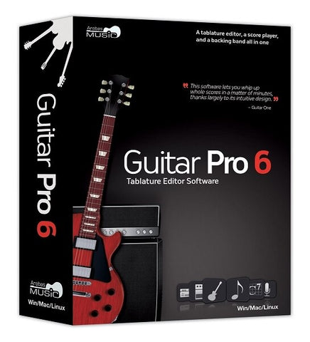 Arobas Music Guitar Pro 6.0 - 5 User Site License - Audiofeen
