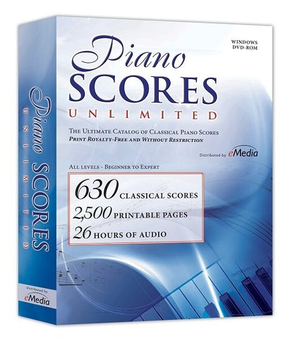 IPE Music Piano Scores Unlimited (Win-MAC) - Audiofeen