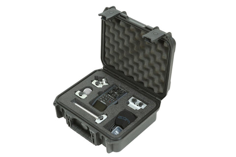 SKB 3i-1209-4-H6B - iSeries Injection Molded Case for Zoom H6 Recorder w-Shotgun mic slot - Audiofeen