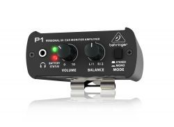 Behringer P1 - personal in-ear monitor headphone amplifier - Audiofeen