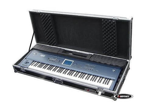 ODYSSEY FZKB88W 88 NOTE KEYBOARD UNIVERSAL CASE WITH WHEELS - Audiofeen