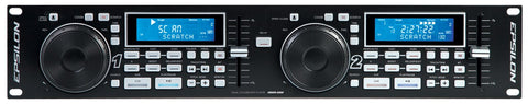 Epsilon USB-2000 Multi-Format Dual CD Player - Audiofeen