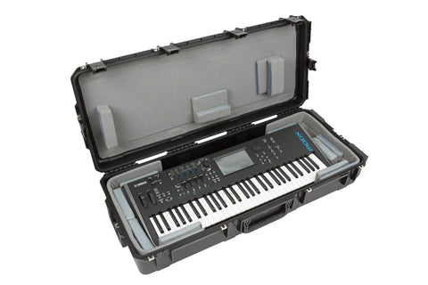 "SKB 3i-4217-TKBD - iSeries 61-Note Keyboard Case - w-Think Tank Interior: 39.5"" x 16"" x 5.625"" - Audiofeen"
