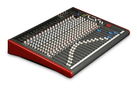 Allen and Heath ZED-24 24-Channel Recording and Live Sound Mixer with USB Connection - Audiofeen