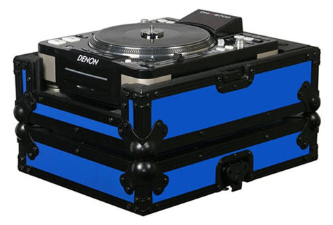Odyssey FRCDJBK-BLUE Flight Ready CD Player Case (Black and Blue) - Audiofeen