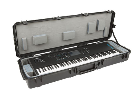 "SKB 3i-6018-TKBD - iSeries 88-Note Keyboard Case - w-Think Tank Interior: 57"" x 17"" x 6"" - Audiofeen"