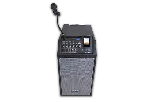 DJ-Tech iBoost 202 280W iPod Active Stereo PA System - Audiofeen