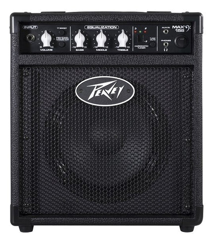 Peavey MAX 158 Bass Combo Amplifier - Audiofeen