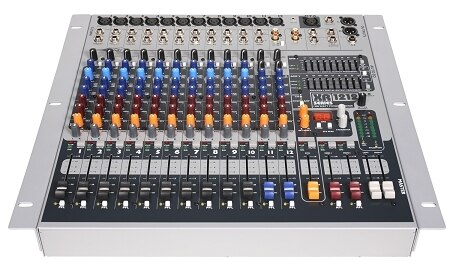 Peavey 3513720 XR 1212 12-Channel Powered Mixer - Audiofeen