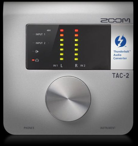 Zoom TAC-2 - Thunderbolt Audio Interface - Audiofeen