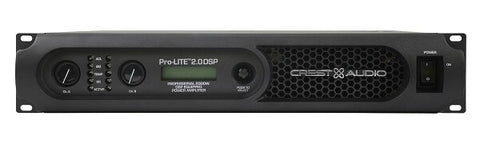 Crest Audio Pro-LITE 2.0 DSP Power Amplifier - Audiofeen