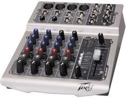 Peavey PV 6 USB Compact Mixer with USB - B-Stock - Audiofeen