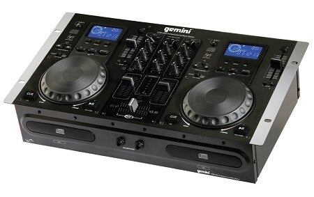 Gemini CDM-3250 Dual CD Player-DJ Mixer - Store Demo - Audiofeen
