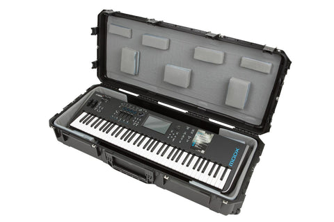 "SKB 3i-4719-TKBD - iSeries 61-Note Wide Keyboard Case - w-Think Tank Interior: 45"" x 18"" x 6.25"" - Audiofeen"
