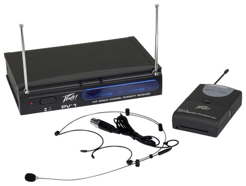 Peavey 3010080 PV-1 U1 BHS 906.000MHZ Headset Wireless System - Audiofeen