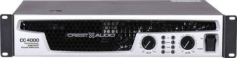 Crest Audio CC4000 Professional Power Amplifier (Display) - Audiofeen