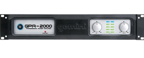Gemini GPA-2000 Professional Power Amplifier - Audiofeen