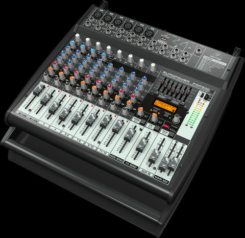 Behringer EUROPOWER PMP500 - 12-Channel powered mixer - Audiofeen