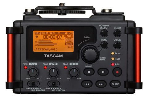 Tascam  DR-60DMKII PORTABLE RECORDER FOR DSLR - Audiofeen