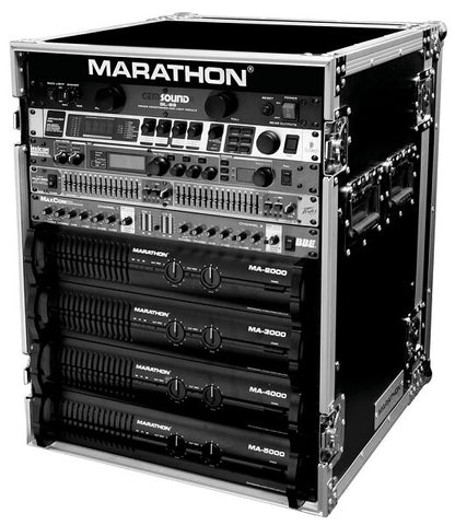 Marathon MA-14UAD Professional Amplifier Rack - Audiofeen