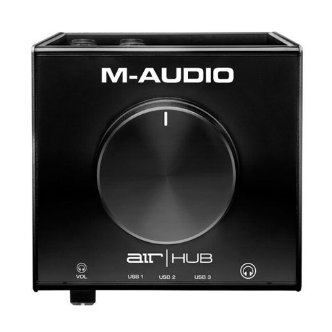 M-Audio AIR | Hub Desktop USB Monitoring Interface with Built-In USB Hub - Audiofeen