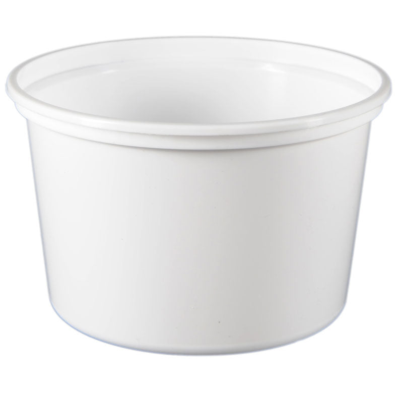 16 oz. Natural PP Plastic Tubs, L410