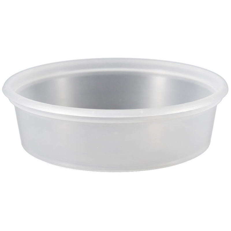 6 oz. Natural PP Plastic Tubs, L410