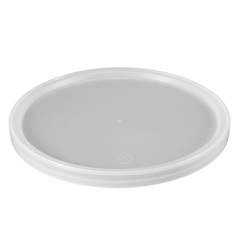 Natural LLDPE Plastic Recessed Tub Lids, L811