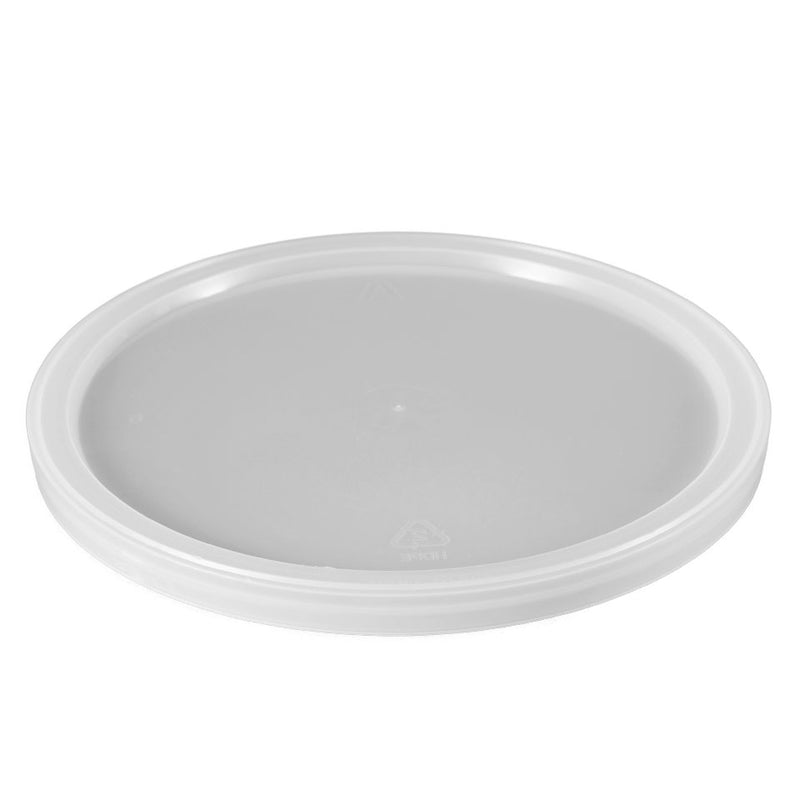 Natural LLDPE Plastic Tub Lids, L804