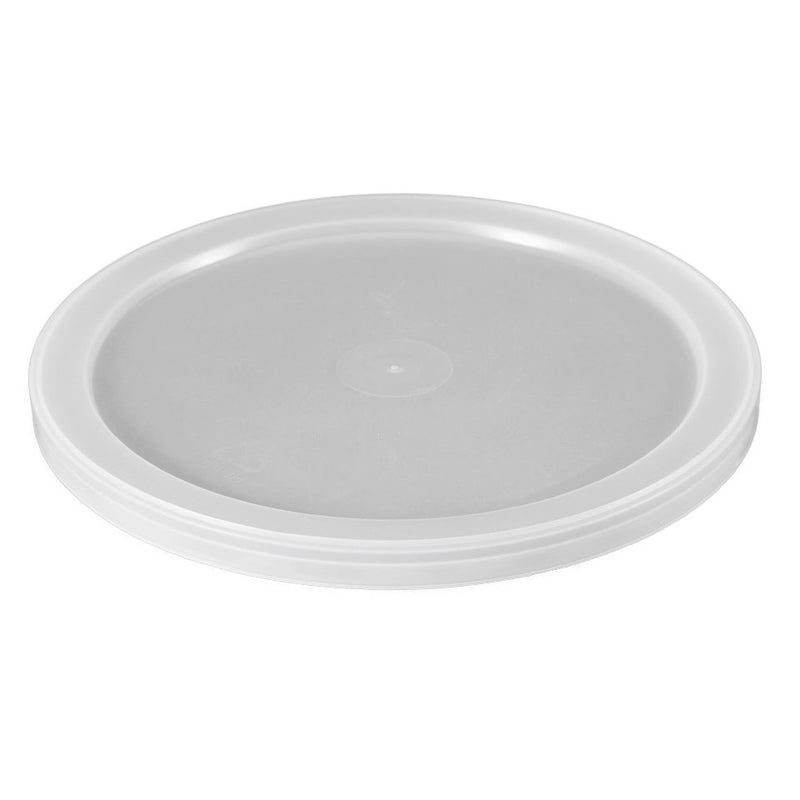 Natural LLDPE Plastic Tub Lids, L603