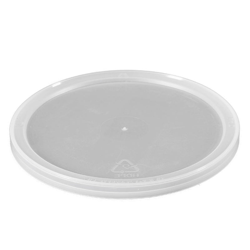 Natural LLDPE Plastic Tub Lids, L410