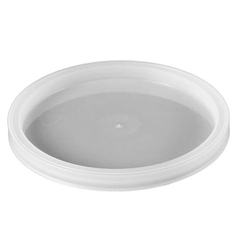 Natural LLDPE Plastic Recessed Tub Lids, L410